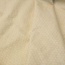 Honey Beige Swirl Print 100% Cotton Fabric x 0.5m
